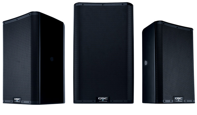 QSC K.2 Series Powered Loudspeakers