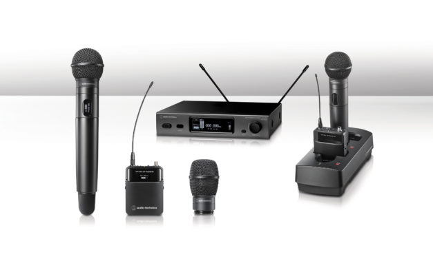 Audio-Technica Introduces Fourth-Generation 3000 Series  Frequency-Agile True Diversity UHF Wireless Systems